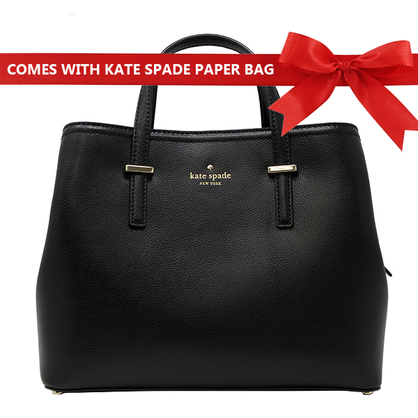 Kate Spade Crossbody Bag Patterson Drive Evangelie Satchel Black # WKRU5170