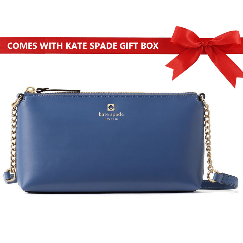 Kate Spade Crossbody Bag Weller Street Declan Consel Blue # WKRU5065