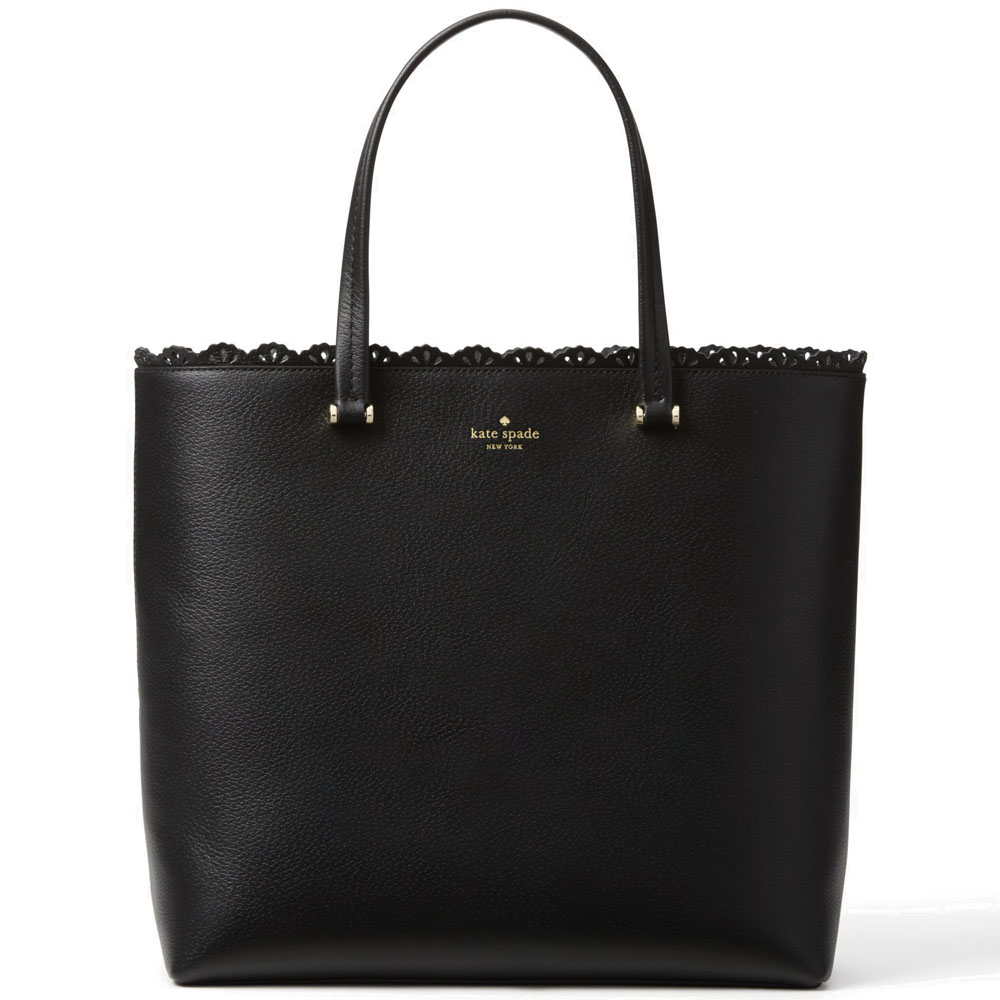 Kate Spade Fordham Court Marjorie Tote Shoulder Bag Black # WKRU4236