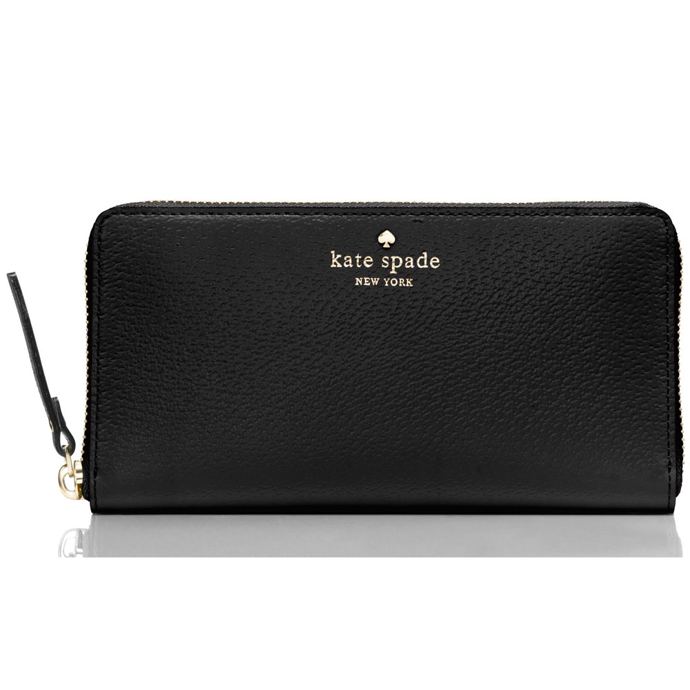 Kate Spade Grand Street Neda Wallet Black # WLRU2155