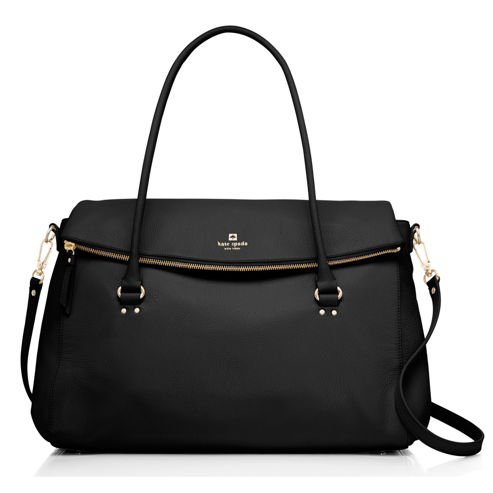 Kate Spade Grant Park Travel Leslie Black # WKRU3733
