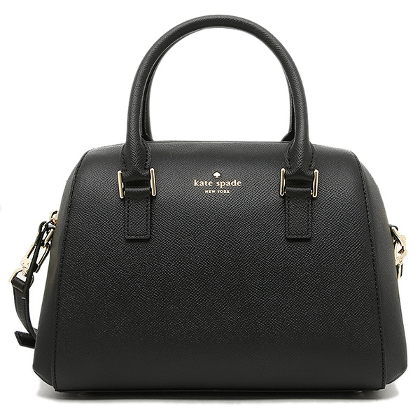 Kate Spade Greene Street Seline Satchel Crossbody Bag Black # PXRU7585