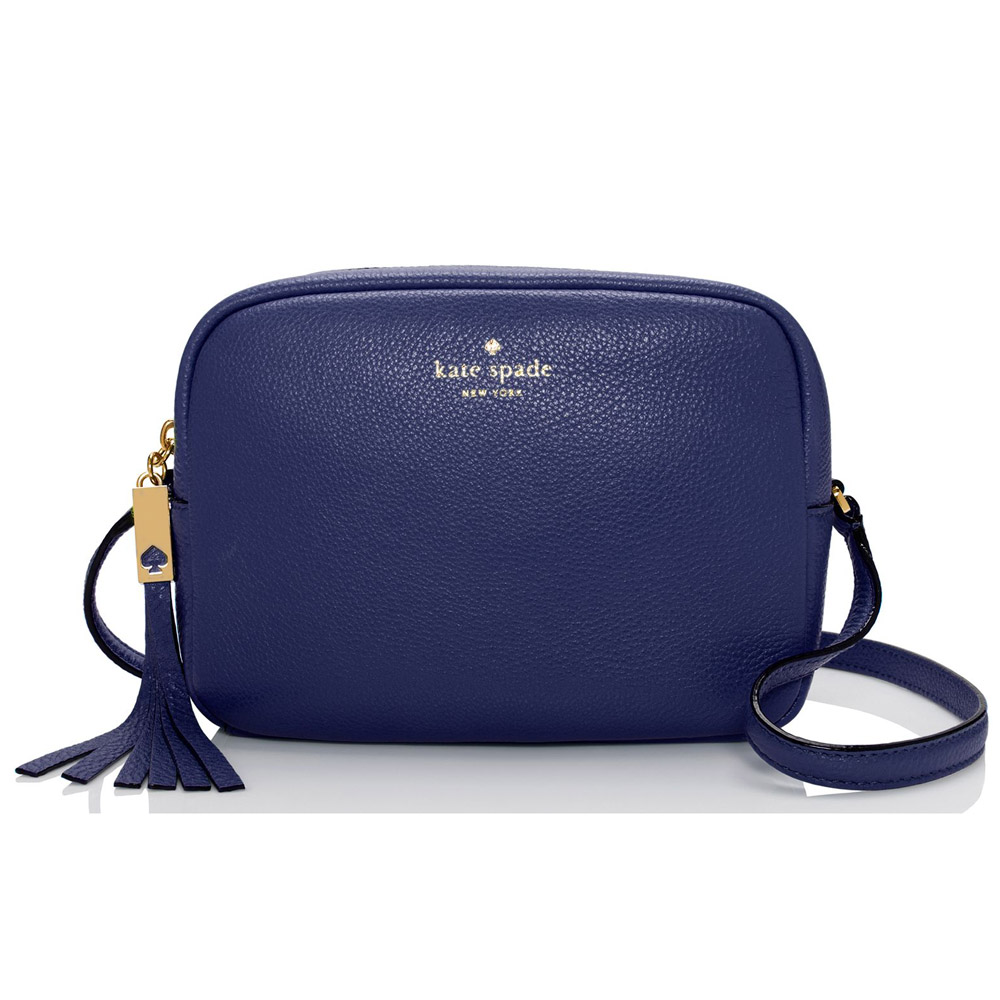 Kate Spade Grey Street Mindy Crossbody Bag French Navy # WKRU3318