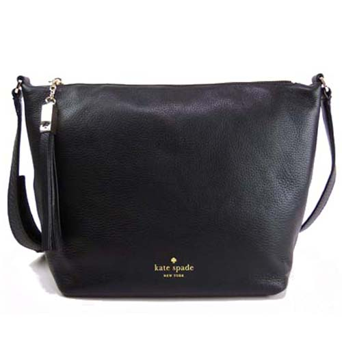 Kate Spade Grey Street Sandie Crossbody Bag Black # WKRU3321