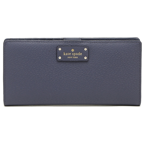 Kate Spade Grove Street Large Stacy Wallet Diver Blue # WLRU2817