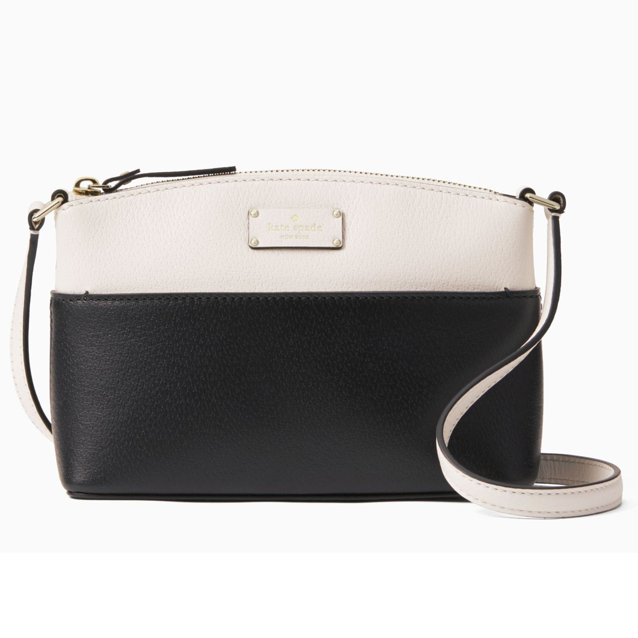 Kate Spade Grove Street Millie Crossbody Bag Black Cream # WKRU4194