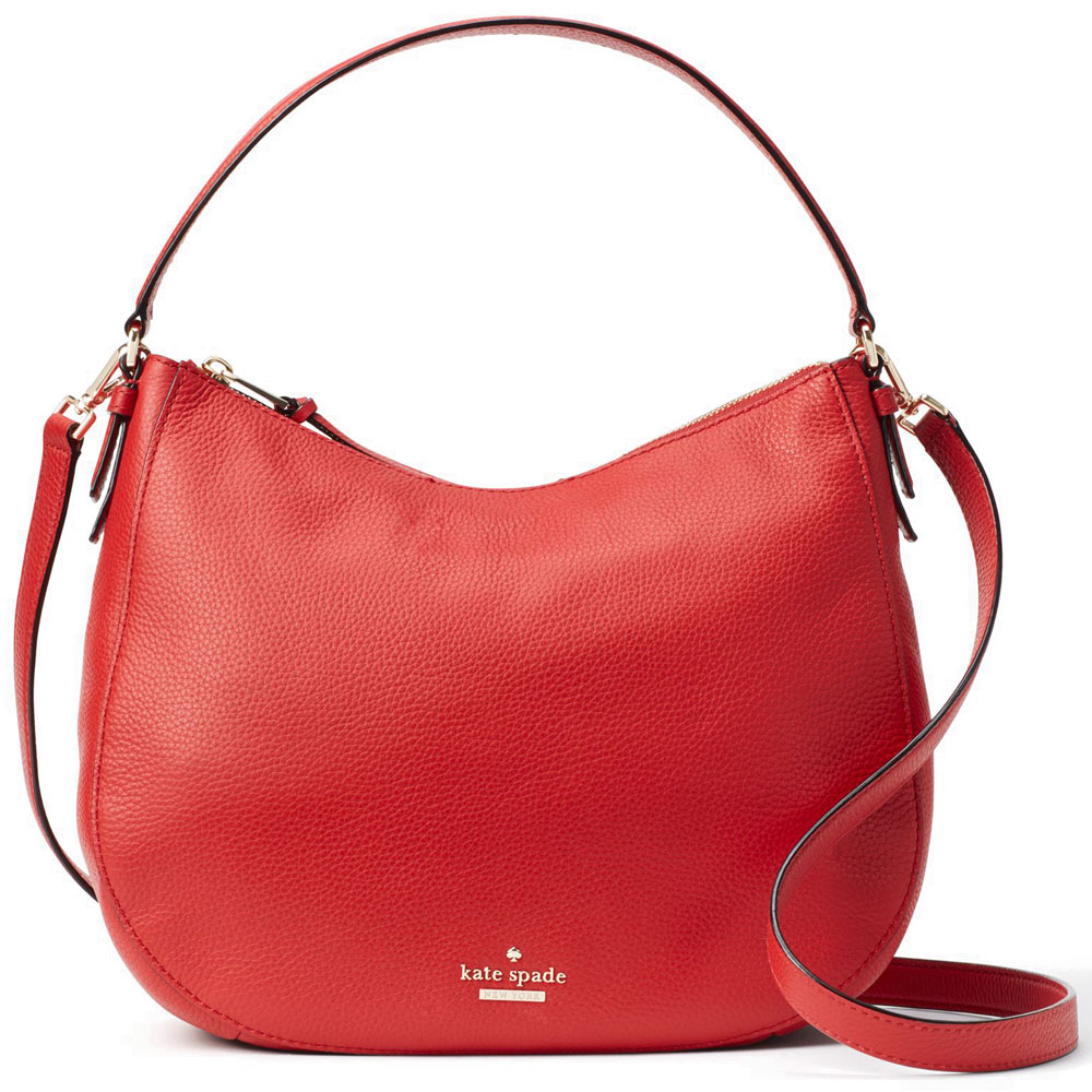 Kate Spade Jackson Street Mylie Shoulder Bag Crossbody Bag Red Carpet # PXRU7834