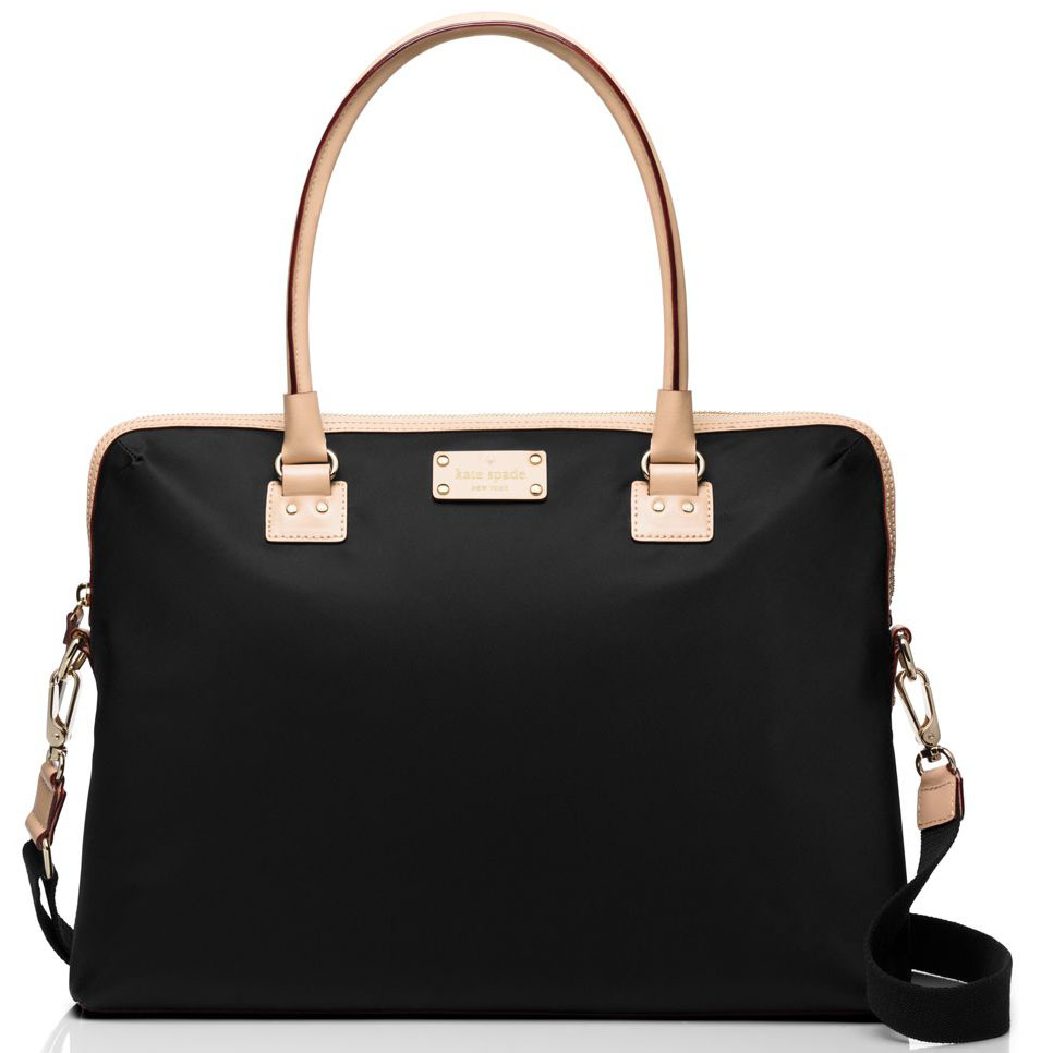 Kate Spade Kennedy Park Calista Laptop Bag Black # WKRU3261