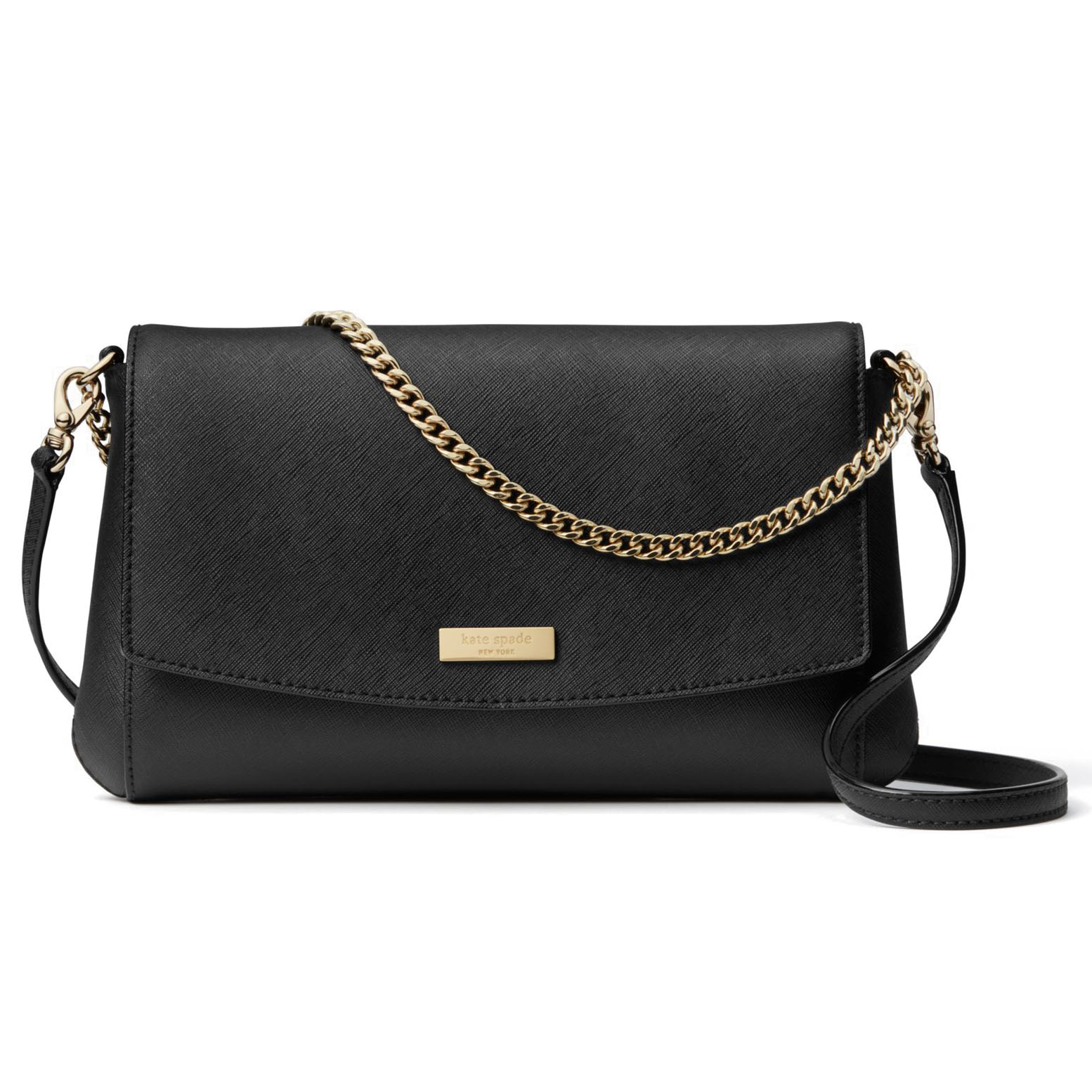 Kate Spade Laurel Way Greer Crossbody Bag Black # WKRU4092