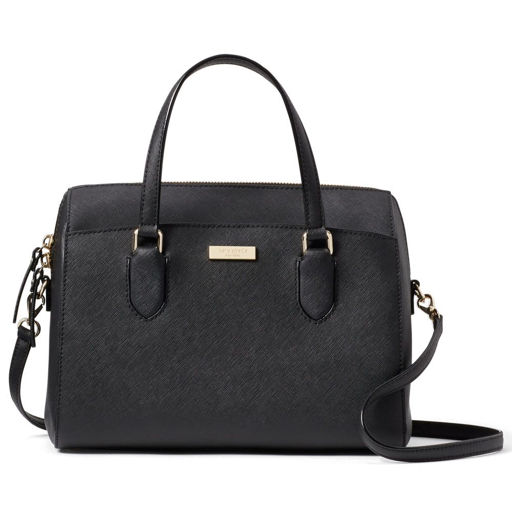 Kate Spade Laurel Way Lanae Satchel Black # WKRU4324