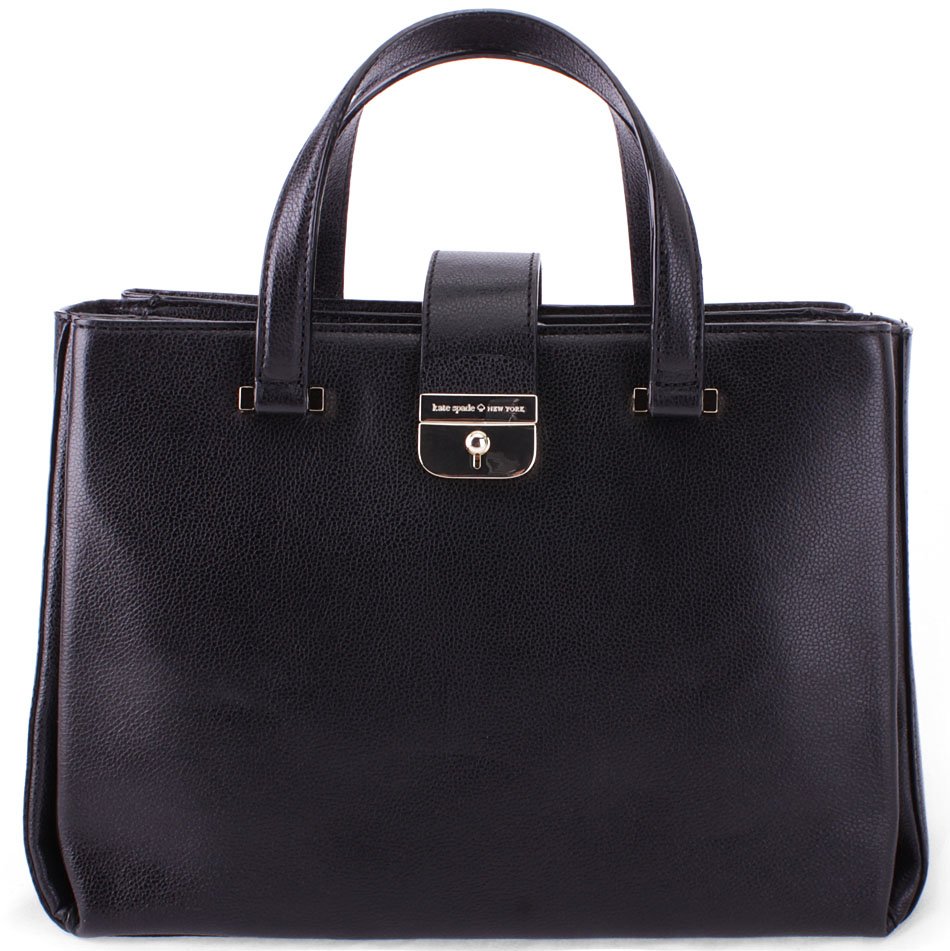 Kate Spade Lovett Street Natacha Satchel Black # WKRU4593