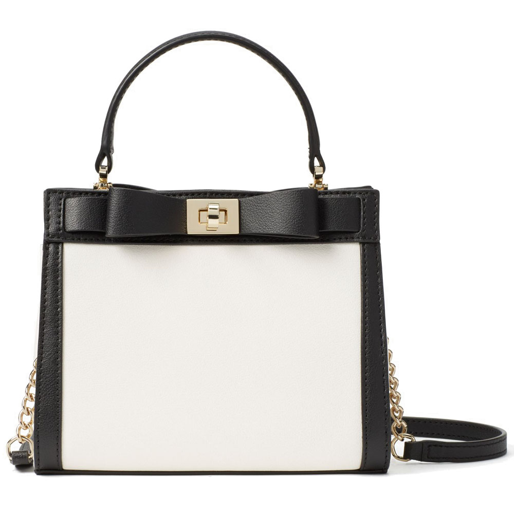 Kate Spade Mayfair Drive Mini Tullie Cement / Black # WKRU3955