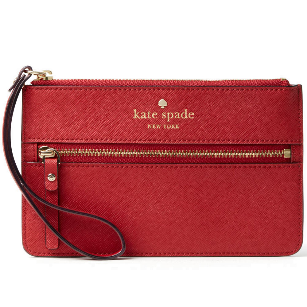 Kate Spade Mikas Pond Bee Pillbox Red # WLRU1859