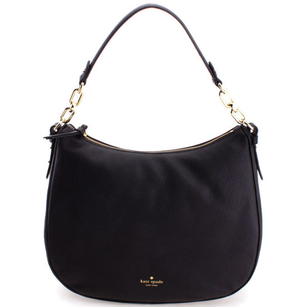 Kate Spade Mulberry Street Maude Shoulder Bag Black # WKRU3924