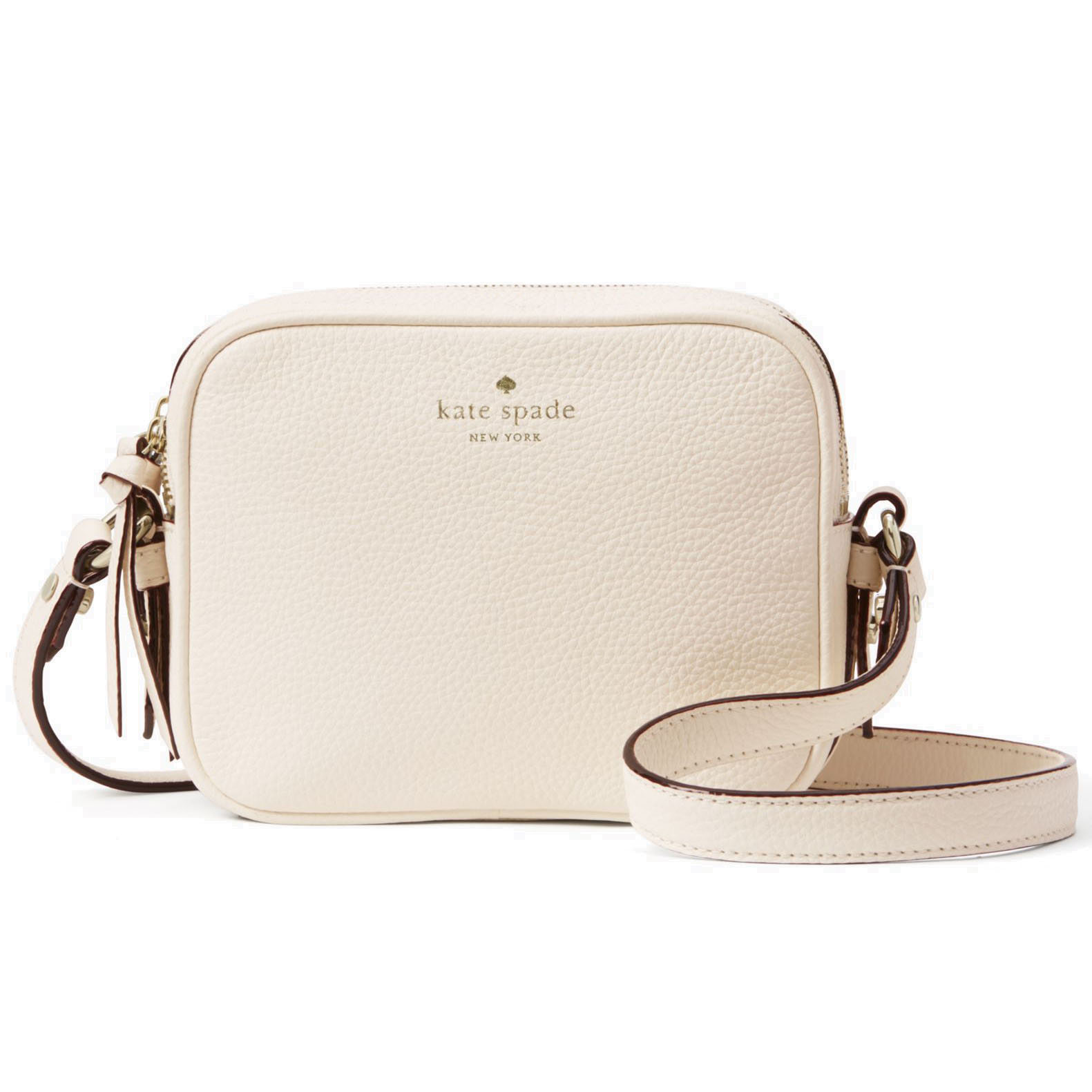 Kate Spade Mulberry Street Pyper Crossbody Bag Cement Cream # WKRU3925