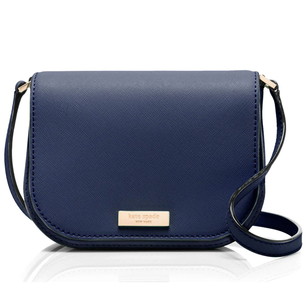 Kate Spade Newbury Lane Carsen Crossbody Indigo Navy # WKRU3817