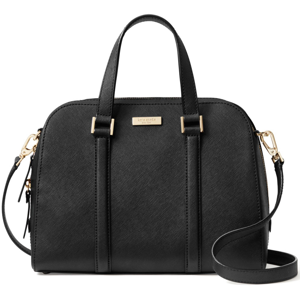 Kate Spade Newbury Lane Small Felix Crossbody Bag Black # WKRU3367