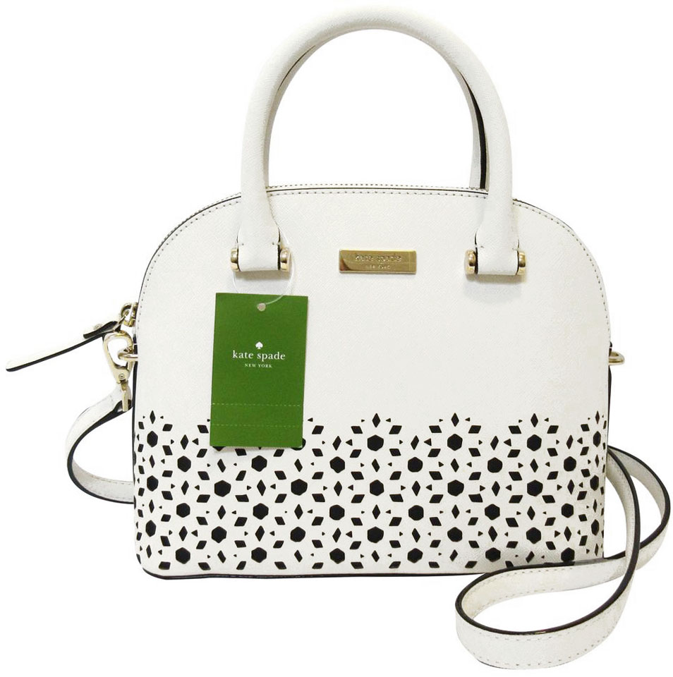 Kate Spade Newman Drive Mini Carli Cement Cream White # WKRU5223