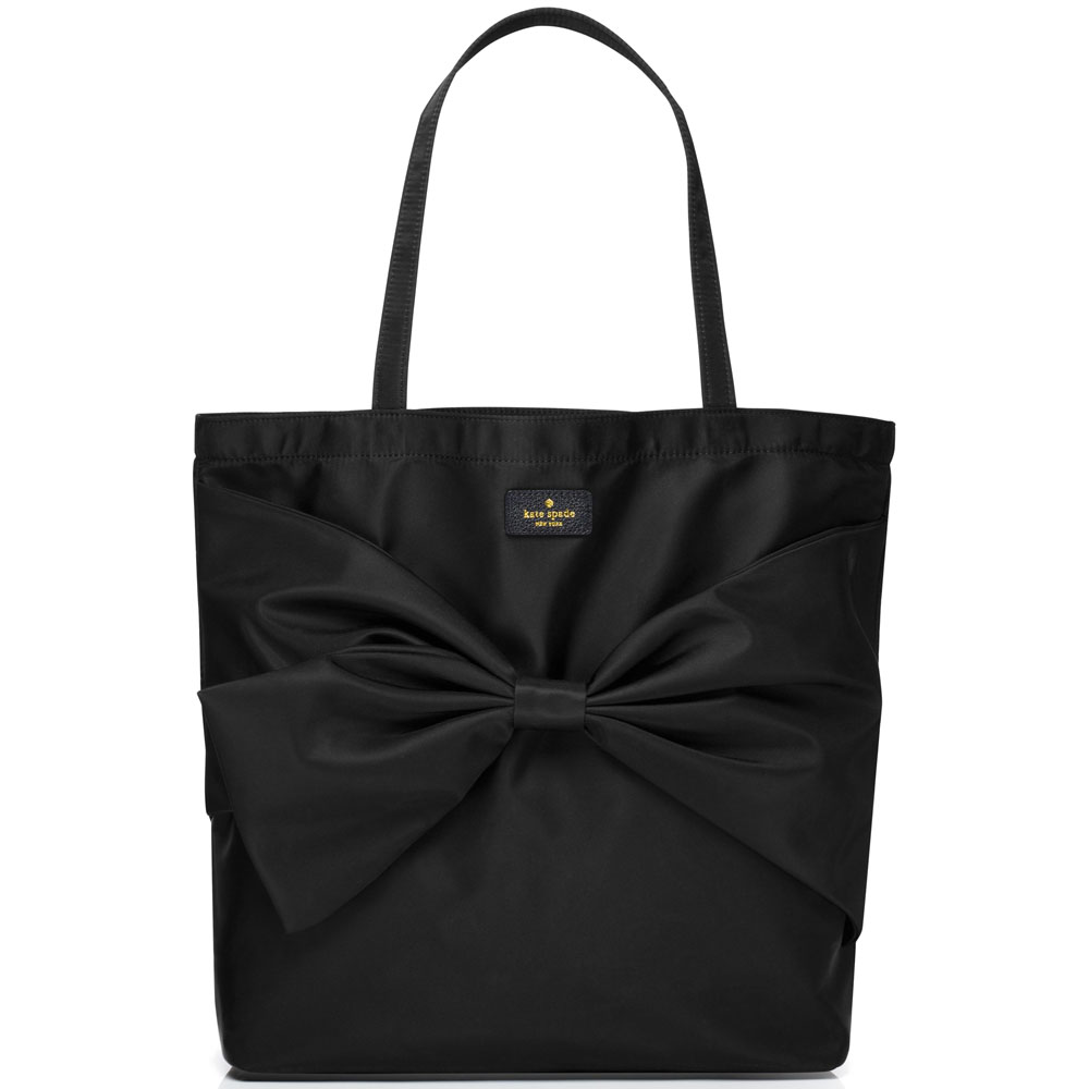Kate Spade On Purpose Nylon Tote Black # UVRU0137