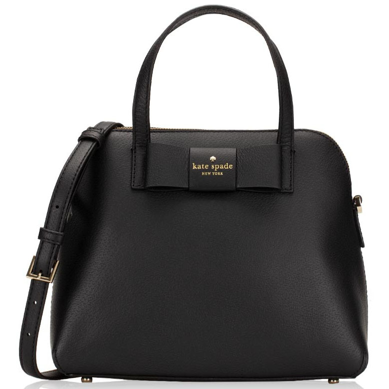 Kate Spade Robinson Street Maise Satchel Crossbody Bag Black # WKRU4926B
