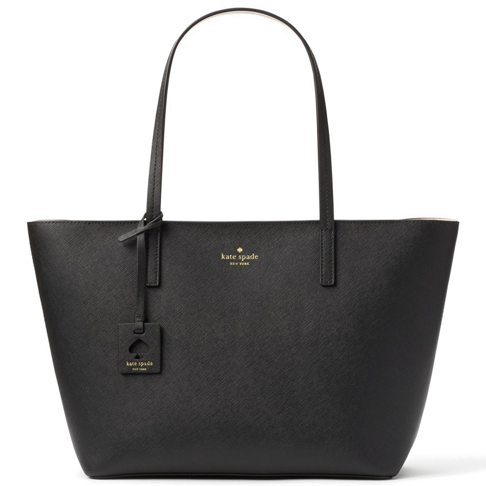 Kate Spade Scott Place Lida Black / Antilles Bubbles # WKRU4664