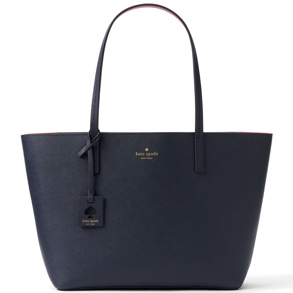 Kate Spade Scott Place Lida Offshore Navy Blue / Radish # WKRU4664