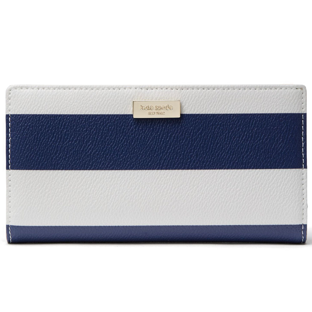 Kate Spade Shore Street Stacy Cream / Navy Stripe # WLRU2952