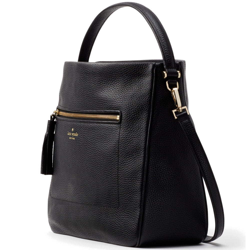 Kate Spade Shoulder Bag With Gift Bag Chester Street Michaela Black # WKRU4224