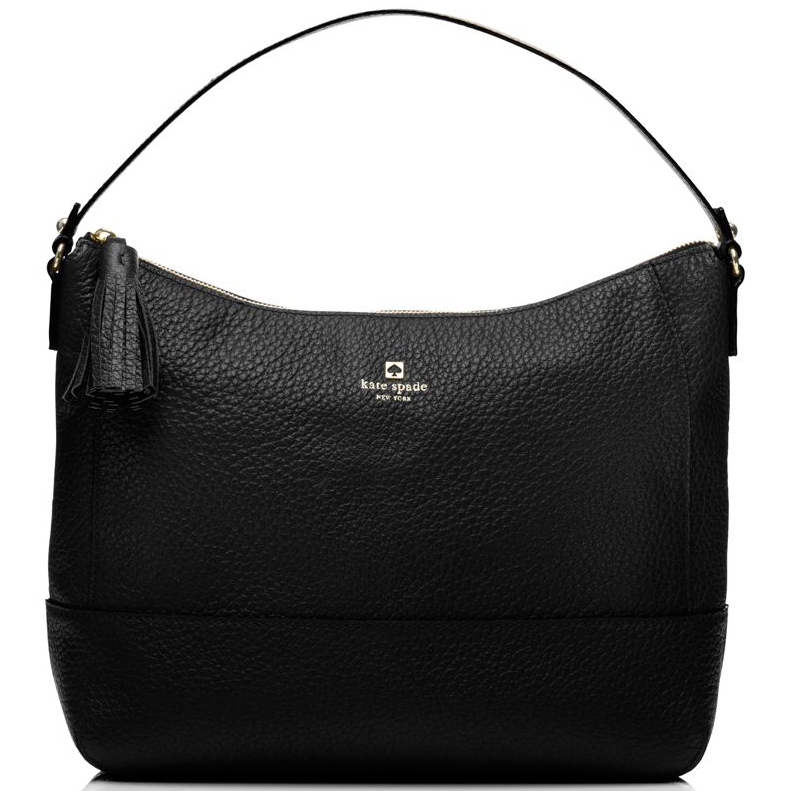 Kate Spade Southport Avenue Cathy Shoulder Bag Black # WKRU1768