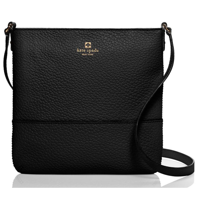 Kate Spade Southport Avenue Cora Crossbody Bag Black # WKRU1769