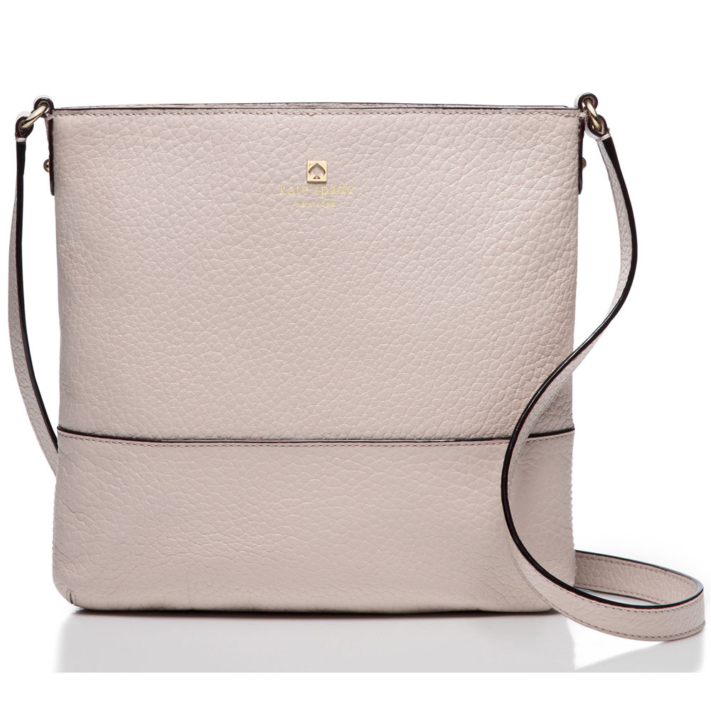 Kate Spade Southport Avenue Cora Crossbody Bag Moussfrost Grey # WKRU1769