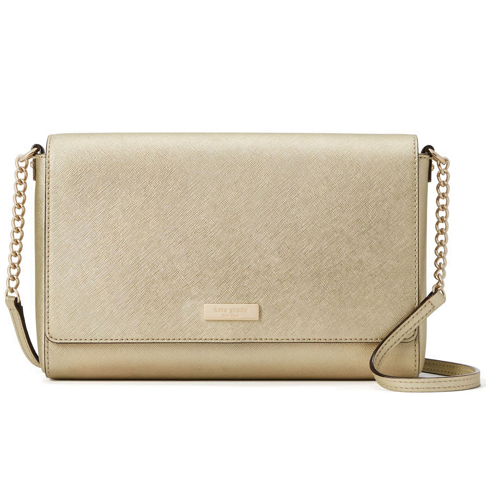 Kate Spade Tilden Place Alek Crossbody Bag Gold # WKRU4642