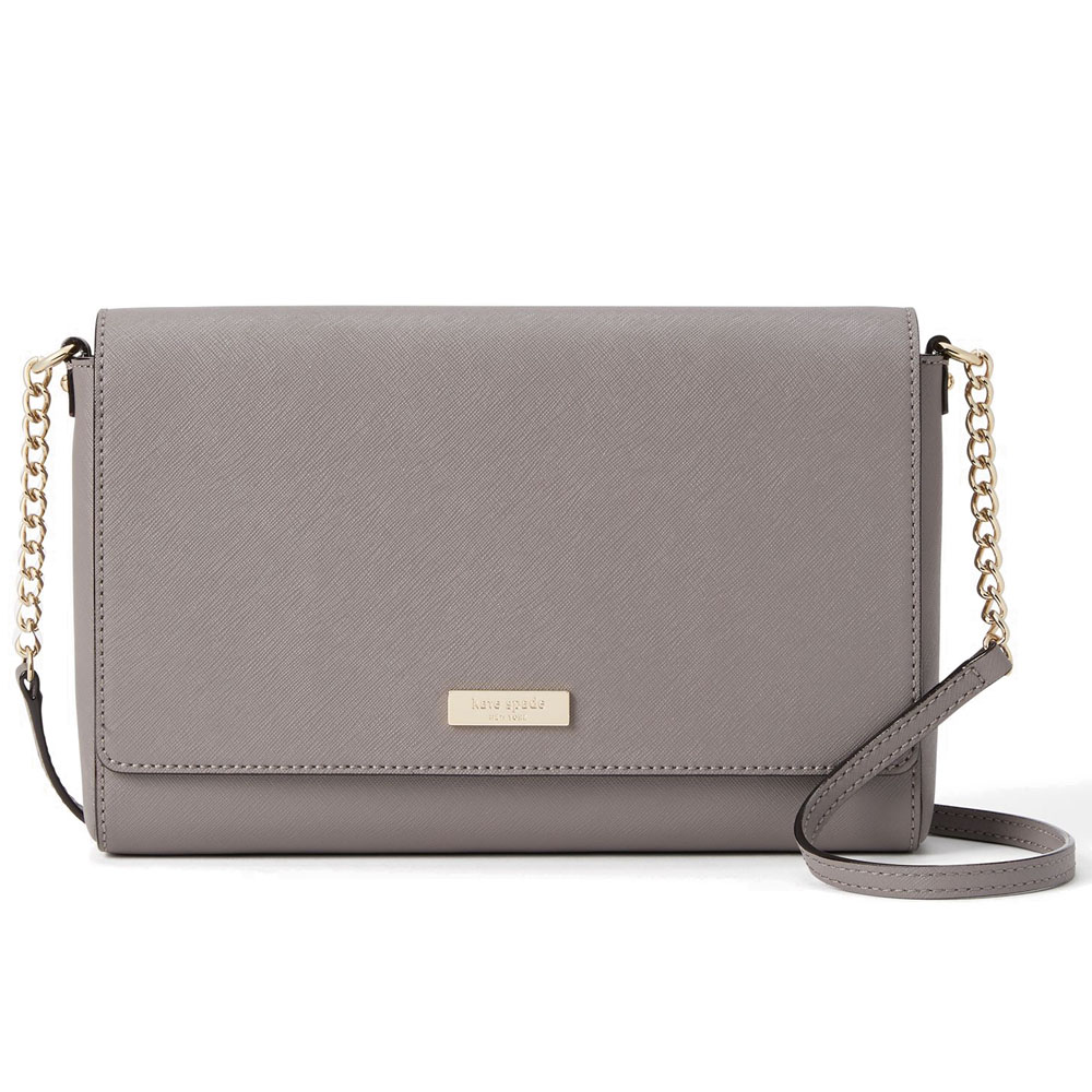 Kate Spade Tilden Place Alek Crossbody Bag Hare Grey # WKRU4642