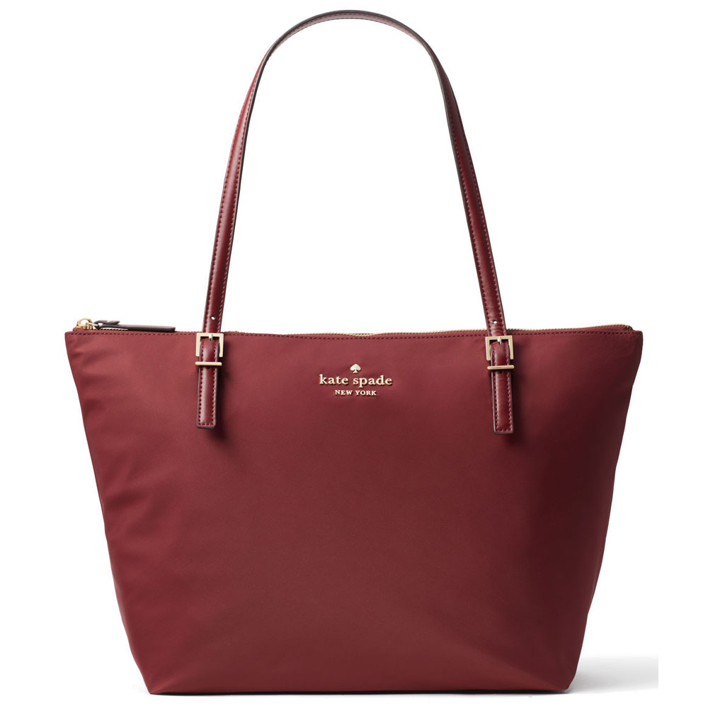 Kate Spade Tote Watson Lane Maya Shoulder Bag Dark Currant Red # PXRU7662