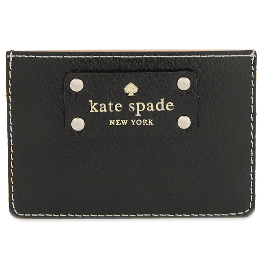 Kate Spade Wellesley Graham Card Case Black # WLRU1147