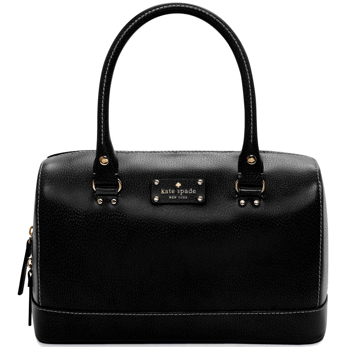 Kate Spade Wellesley Kaleigh Satchel Black # WKRU1444