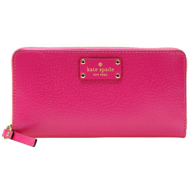 Kate Spade Wellesley Neda Wallet Sweetheart Pink # WLRU1153
