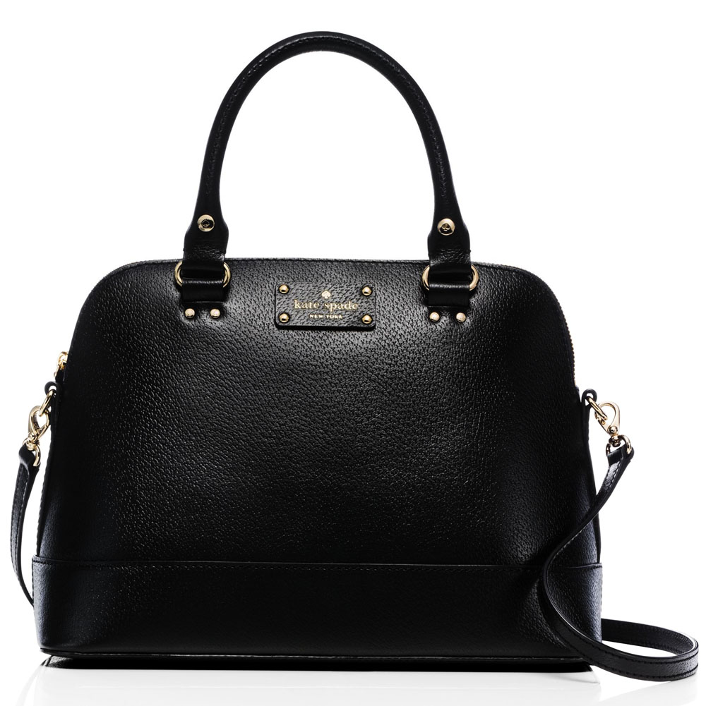 Kate Spade Wellesley Small Rachelle Crossbody Bag Black # WKRU2485