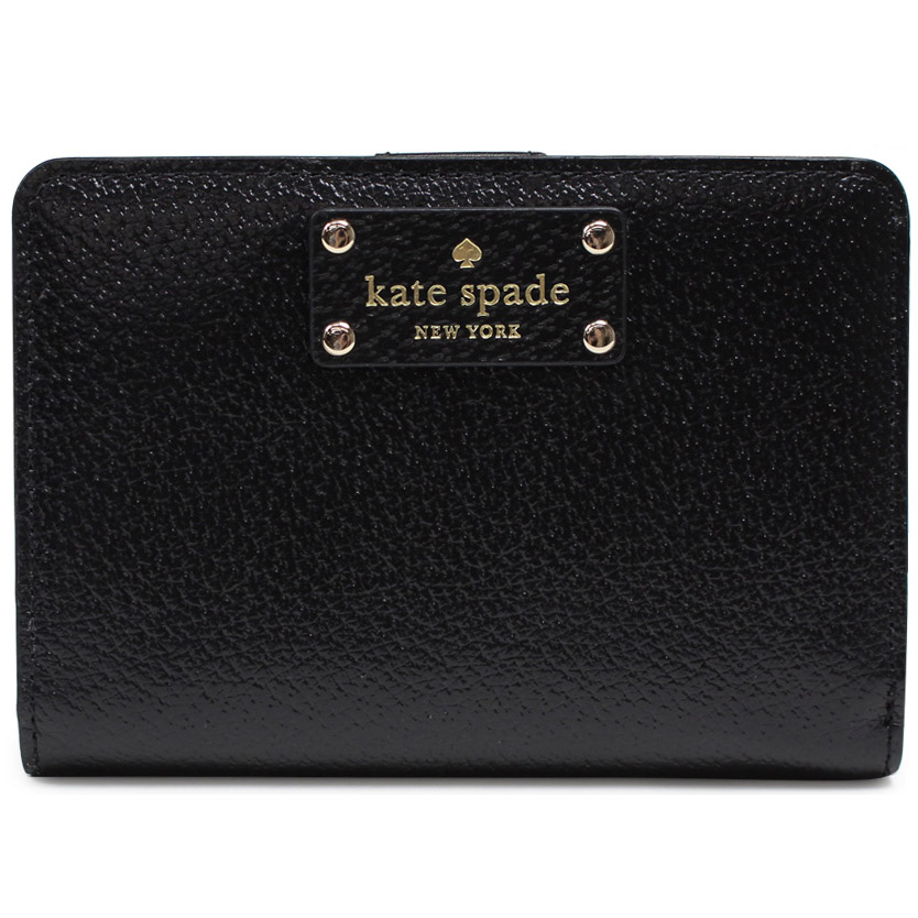 Kate Spade Wellesley Tellie Wallet Black # WLRU2604