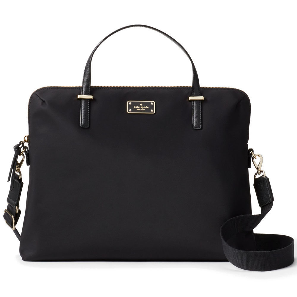 Kate Spade Wilson Road Daveney Laptop Bag Black # WKRU4917