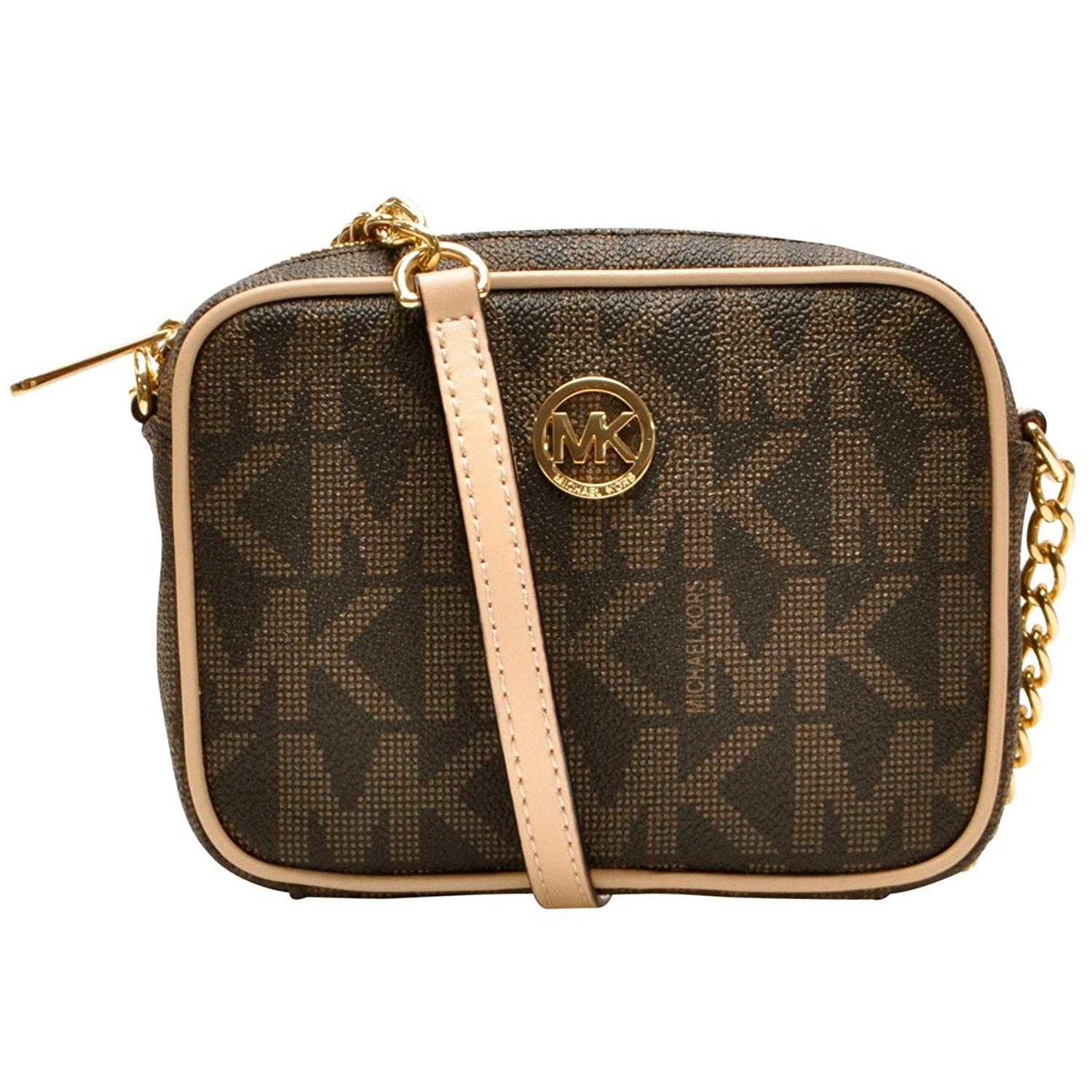 Michael Kors Fulton Small Crossbody Bag Brown # 35T5GFTC2B