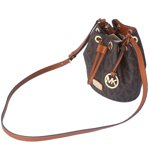 e80c1c44674c SpreeSuki - Michael Kors Jules Mini Drawstring Crossbody Bag Brown ...