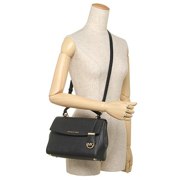 31b5b125e301 SpreeSuki - Michael Kors Ava Small Top Handle Leather Satchel Black ...