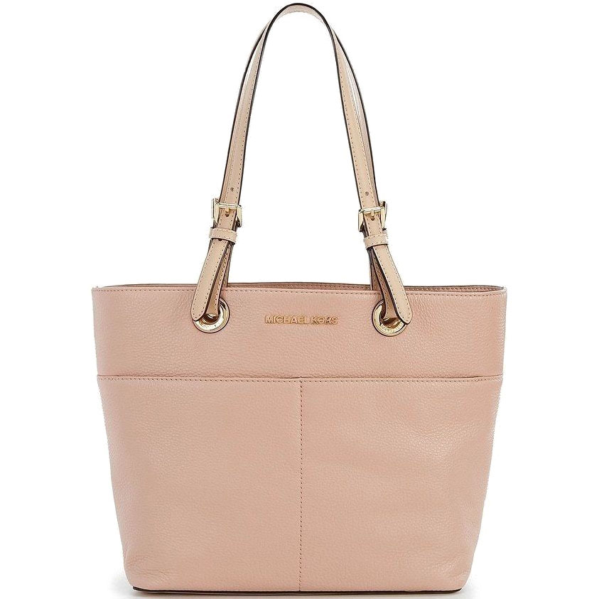 Michael Kors Bedford Top Zip Pocket Tote Fawn Beige Nude # 30H4GBFT6L