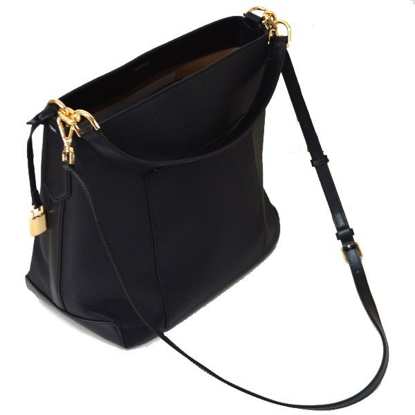 b58a05aa57d1 Michael Kors Crossbody Bag Hayes Large Bucket Leather Shoulder Bag Black    35F8GYEL3L