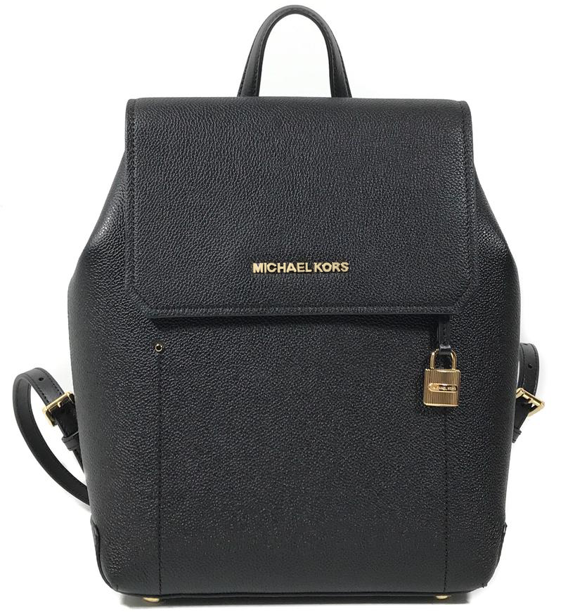 Michael Kors Hayes Medium Backpack Black # 35F8GYEB2T