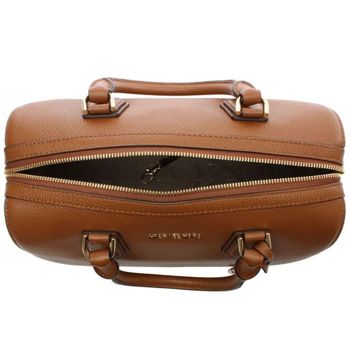 bdb3001941 Michael Kors Mercer Medium Leather Duffel Satchel Crossbody Bag Luggage  Brown   30H6GM9U2L