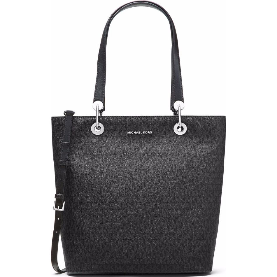 Michael Kors Raven Large North South Top Zip Tote Black # 30S7SRXT3V