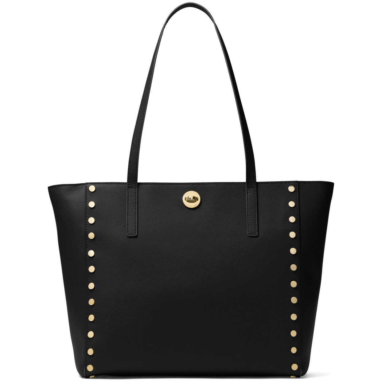 Michael Kors Rivington Stud Large Leather Tote Black # 30S7GR7T3L
