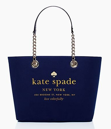Kate Spade East Broadway Small Coal Navy